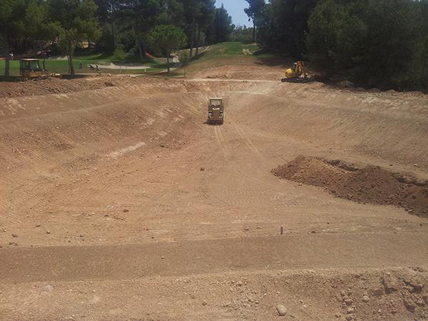 Zona de juegos Campo de Golf