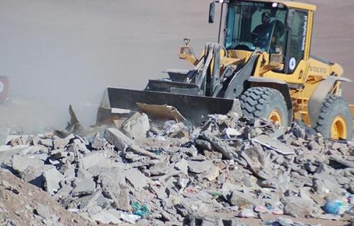 Recogida y limpieza de escombros