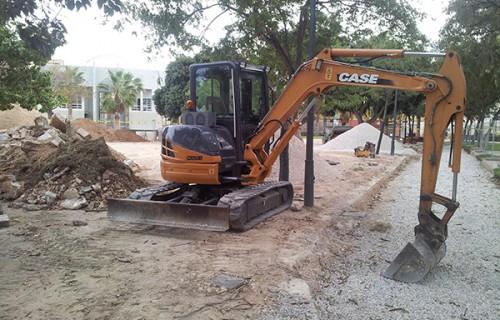 Nivelación y compactación de terreno
