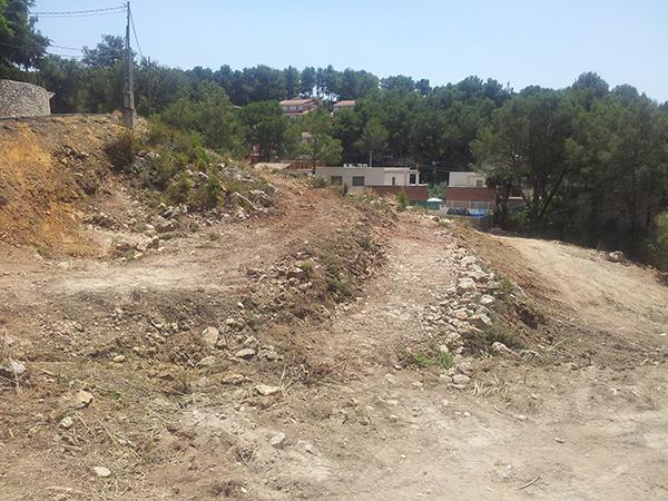 Desbroce y limpieza de terrenos y parcelas